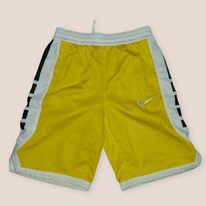 Nike Dri-Fit Yellow Basketball Shorts